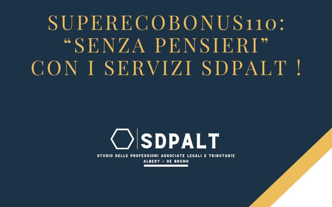 Superecobonus: servizi SDPALT