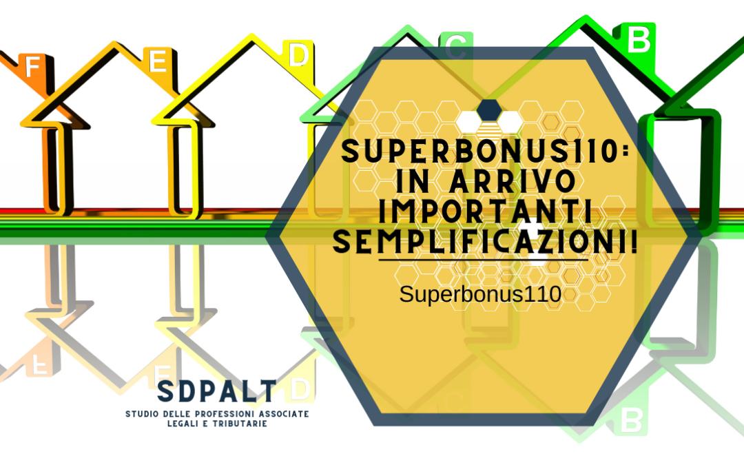 superbonus110 semplificazioni